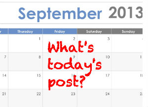 What's today's post?