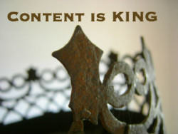 Your content is king of your website