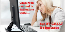 great web content is great for business