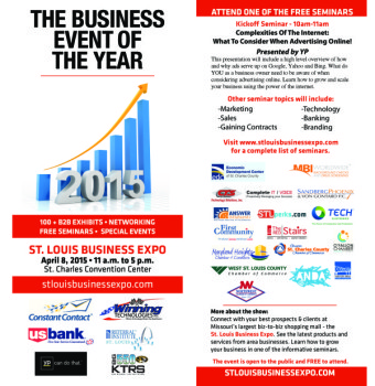 St. Louis Business Expo ticket 2015 The Red Stairs